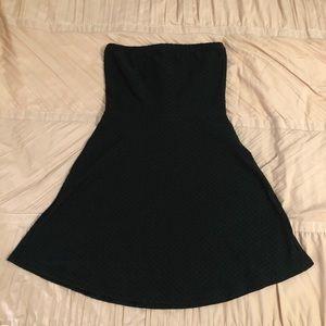 Black Strapless H&M Dress